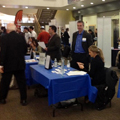 DePaul Students Connect with Area Start-Ups at Winter Internship Fair