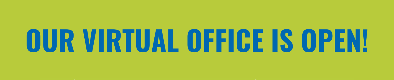 Virtual Office is Open Graphic
