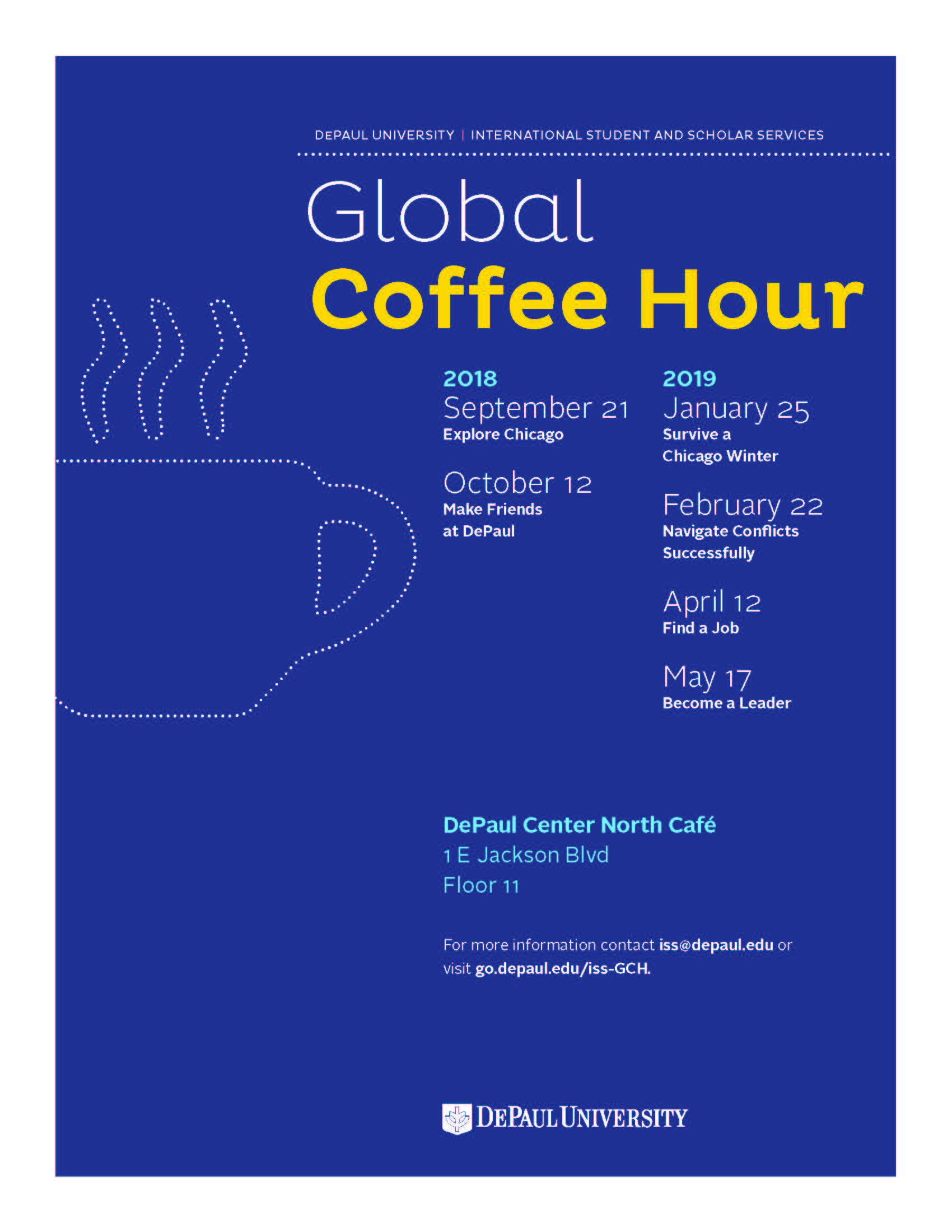 Global Coffee Hour 2018-19 Calendar