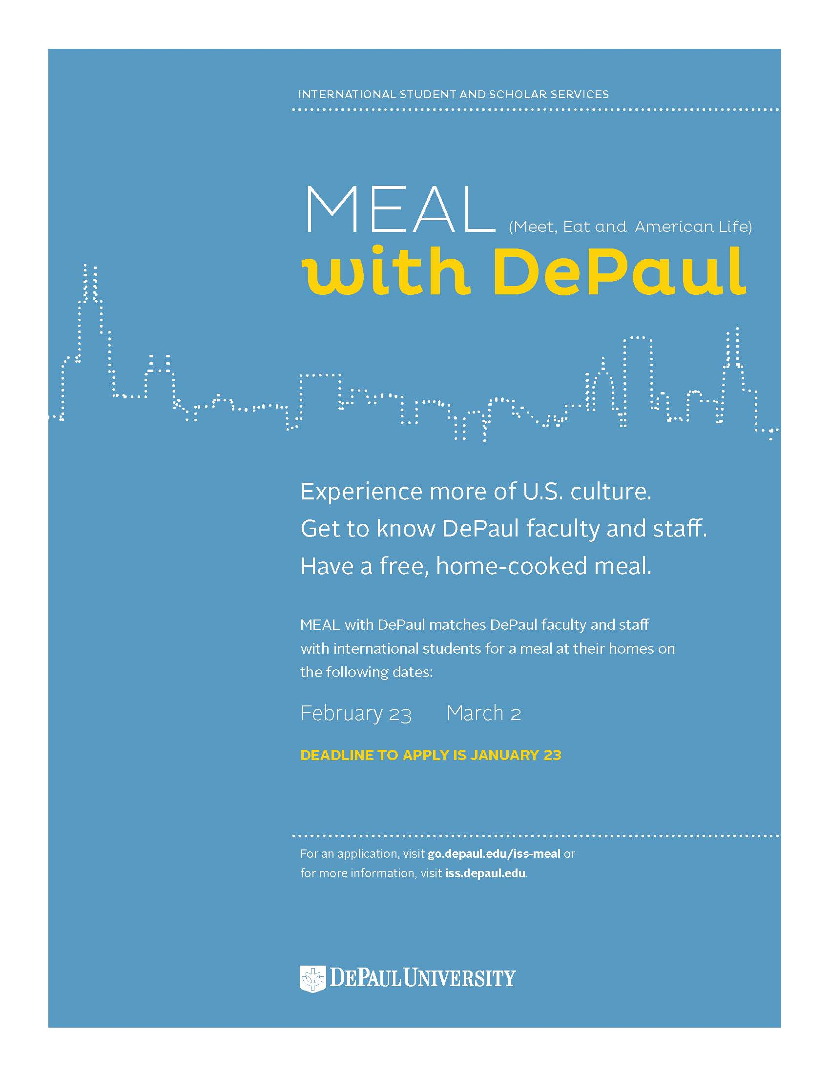 Winter 2019 MEAL with DePaul