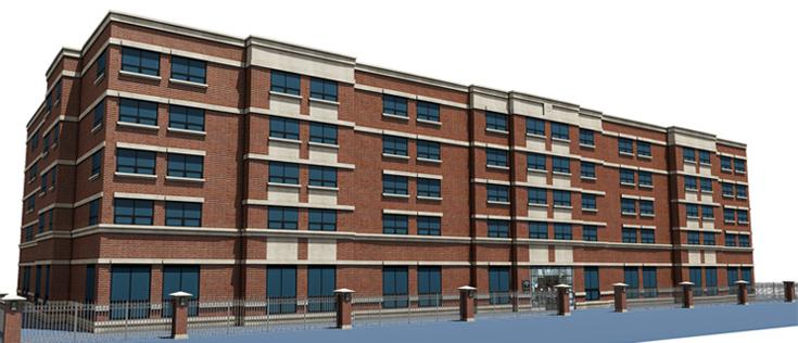 Belden Racine Hall Lincoln Park Residence Halls