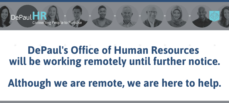 HR Office Is Remote Notice