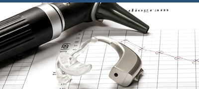 Hearing Aid and Medical Equipment on a Table Top