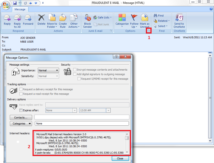 How to Extract Email Headers | How do I | Security Guidance