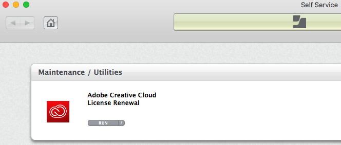 Adobe Renewal Tool for Mac