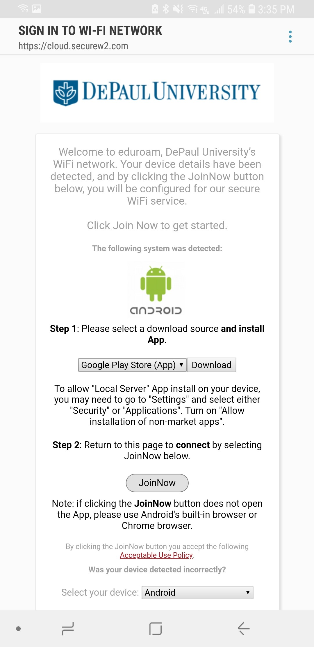 Android Onboarding Step 2