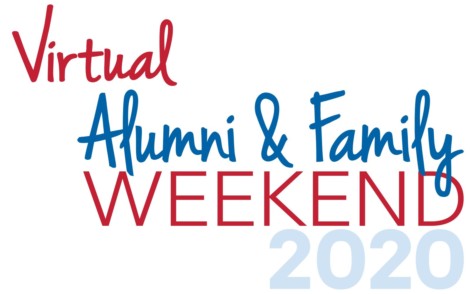 Virtual Alumni and family Weekend 2020