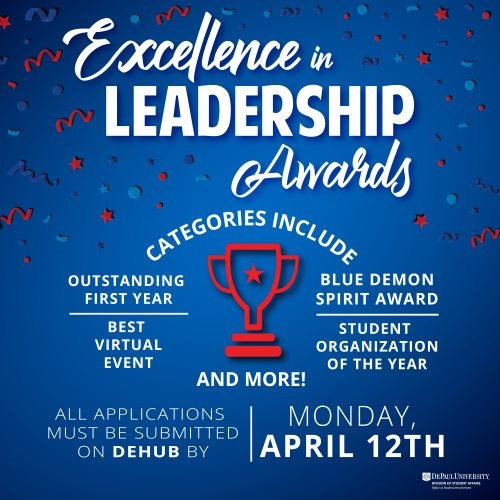 Excellence in Leadership Awards Application