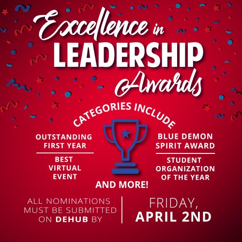 Excellence in Leadership Awards Nominations