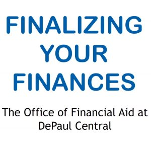 Finalizing Your Finances