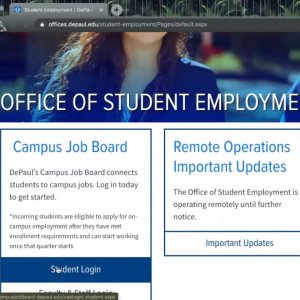 How to Find an On-Campus Job
