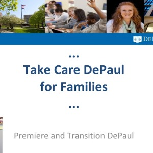Take Care DePaul for Families